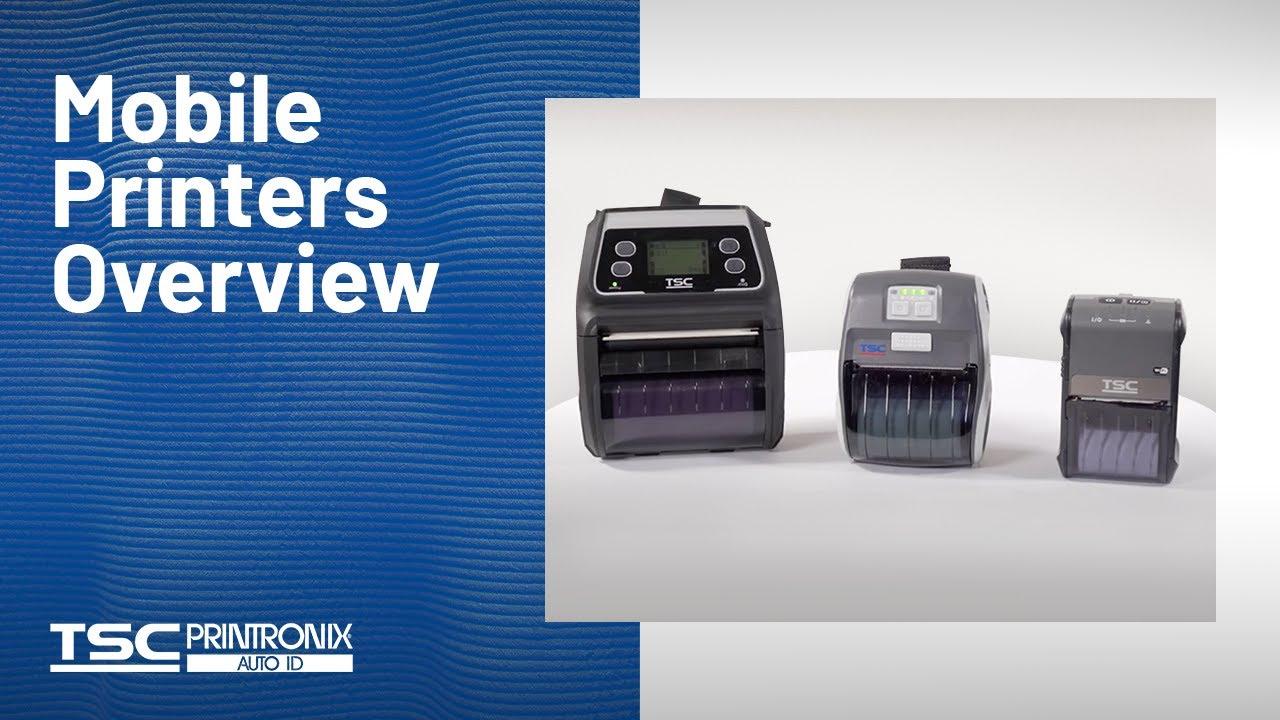 Mobile Barcode Printers - Alpha-3R | TSC