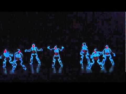 Dança de luzes - arte evoluida ...