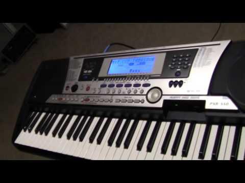 teclado yamaha psr 550 con ritmos latinos a la venta  843 367 1794