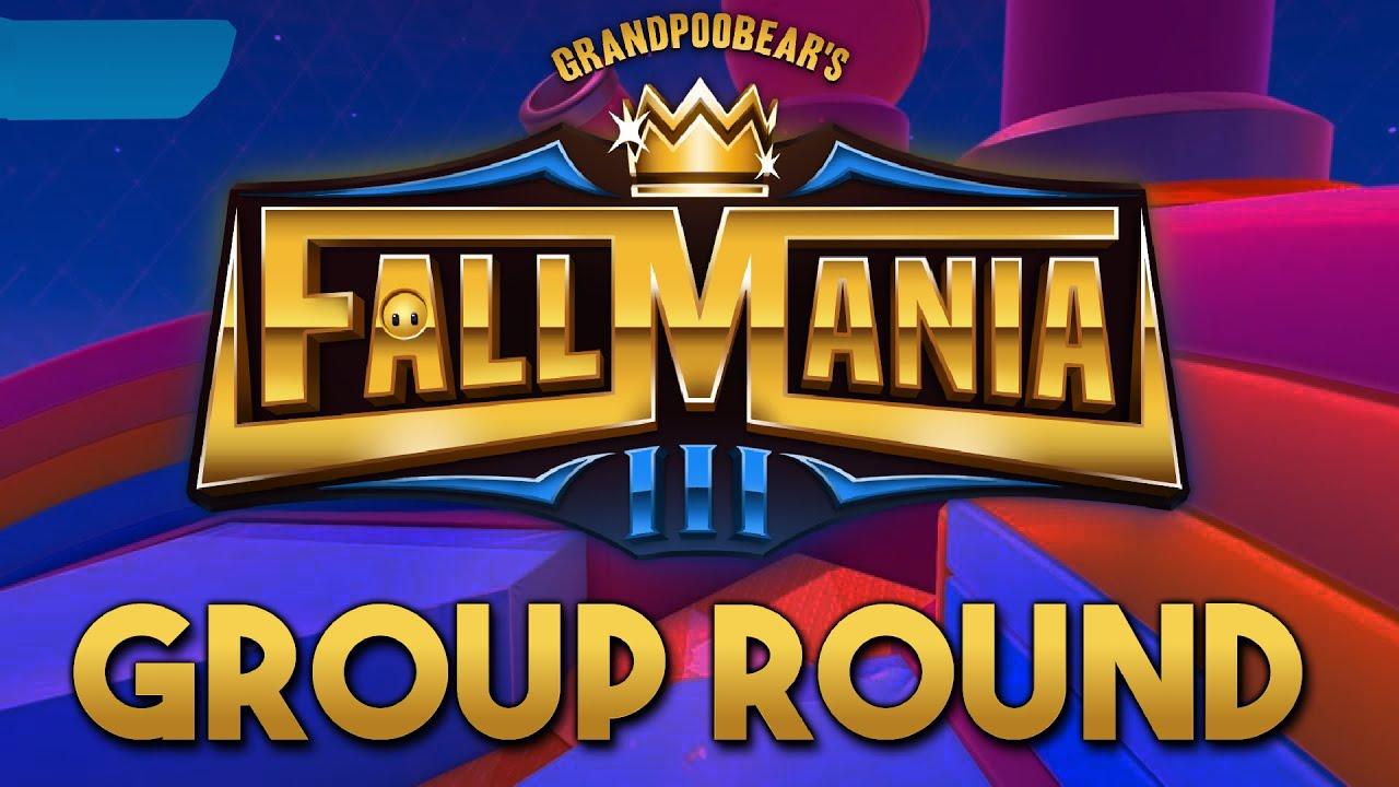 FallMania 3 Group Round | GrandPooBear's $5,000 Fall Guys Tournament