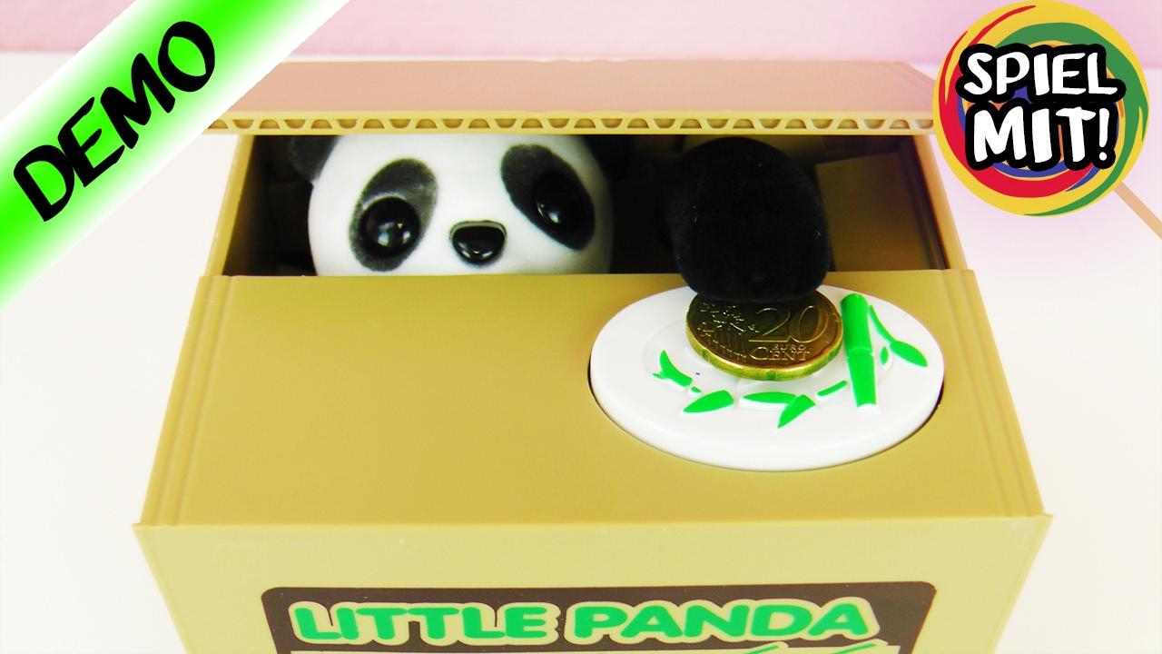 Panda Klaut Unser Geld Lustige Elektronische Spardose Panda