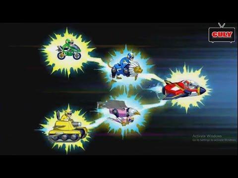 Siêu nhân Super V biến hình Robot chiến đấu | Cu lỳ chơi game #7 | gameplay Run Run Super Five