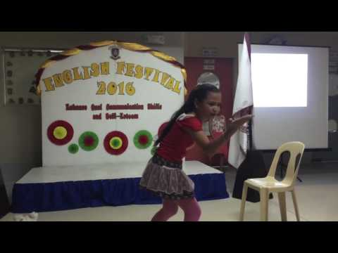 The lost girl Declamation Champion