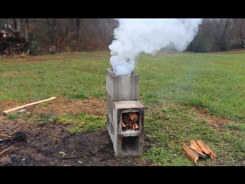 Awesome Rocket Stove Youtube