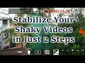 How to Stabilize Video using Smartphone for Free | No Stabilizer | Android & iOS | HD
