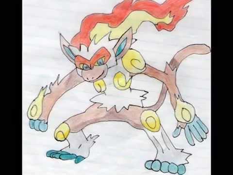 Mis dibujos de pokemon y super campeones  YouTube