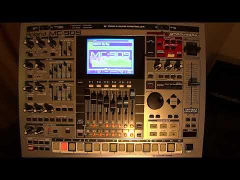 Roland MC-909 - Original Song Demos (18 to 25) - HD Audio / Video  (Part 2)