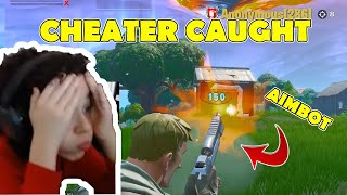 Espectado un CHEATER y AIMBOT - DISGUSTING ! - Necesita ser prohibido - Fortnite Battle Royale Cheaters