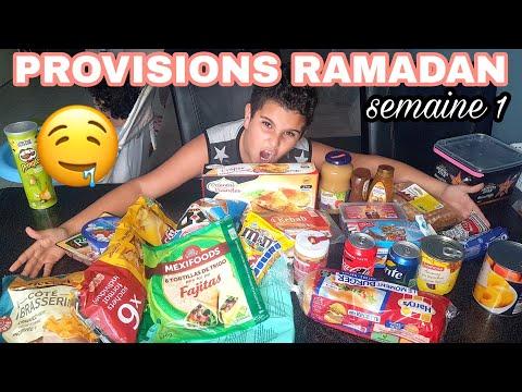 NOS PROVISIONS POUR LE RAMADAN 2018