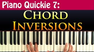 Piano Quickie 7: Chord Inversions Mp3