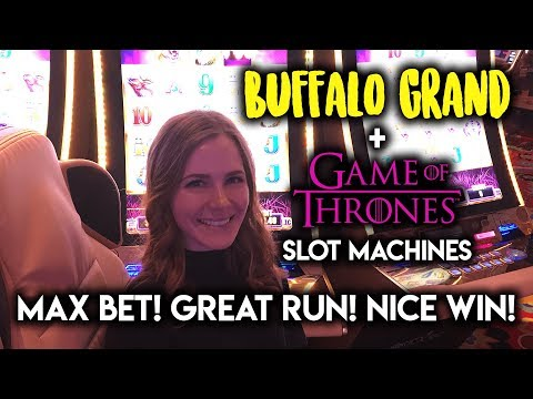 ✦ GREAT✦ Run on Buffalo GRAND! Long Game of Thrones Session! MAX Bet!!!