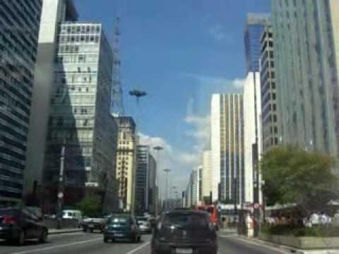 Sao Paulo downtown, Brazil