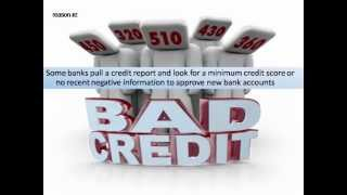 No ChexSystems Banks - Open a New Bank Account