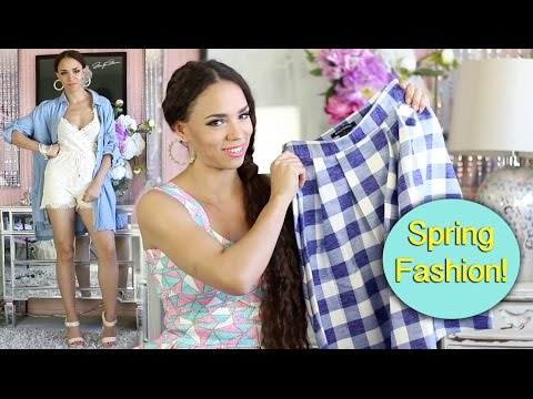 Spring Fashion Haul - Spring Trends & Spring Outfit Ideas