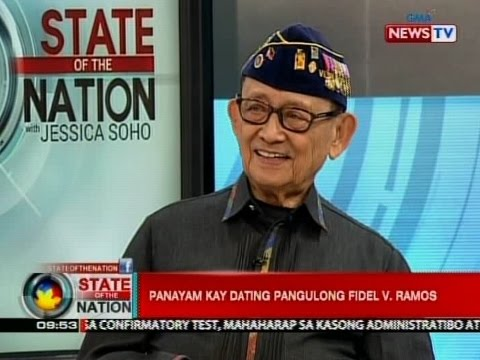 SONA: Panayam kay dating Pangulong Fidel V. Ramos