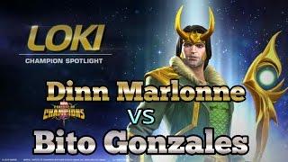 "Desafiando el Perfil del Youtuber ""Player Bito Gonzales""  Marvel Contest of Champions"