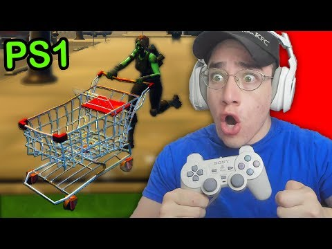 Playing Fortnite On PLAYSTATION 1 - It Worked!
