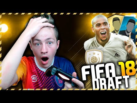 MIN FØRSTE FIFA 18 DRAFT!! 2 ICONS! - SYK PAKKE!! | NORSK FIFA 18 #1