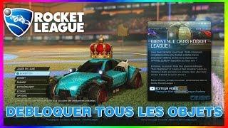[ASTUCE] ROCKET LEAGUE : Débloquer TOUS LES OBJETS rapidement ! (Xbox ONE/PS4/PC)
