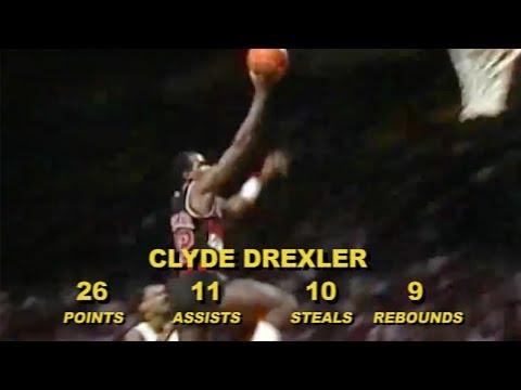 Throwback: Clyde Drexler