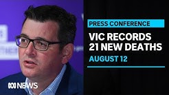 #LIVE: Daniel Andrews is providing a COVID-19 update in Victoria