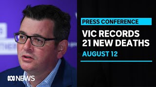 Victoria records its highest coronavirus death toll with 21 more deaths | ABC News