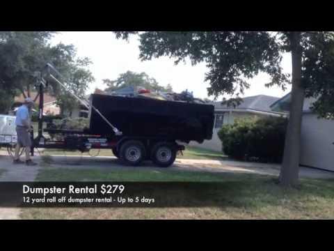 Roll Off Dumpster San Antonio  210-284-2413