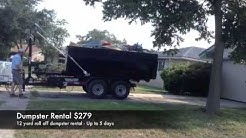 Roll Off Dumpster San Antonio  210-284-2413