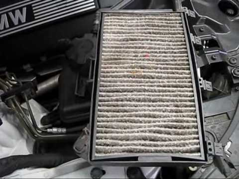 BMW E60 5-Series A/C Cabin Air Filter Replacement