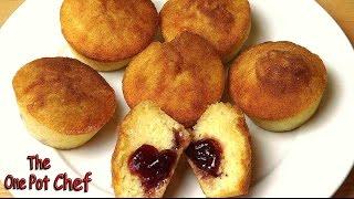 Jam Donut Cupcakes | One Pot Chef
