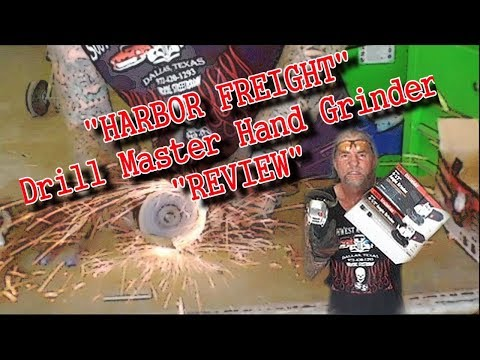 """Is The """"Harbor Freight Hand Grinder"""" Worth $10.00?  - EXTREME REVIEW"""