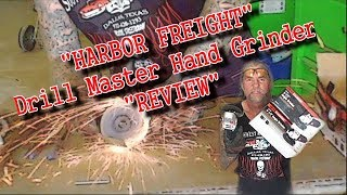 Is The Harbor Freight Hand Grinder Worth 10.00 - EXTREME REVIEW