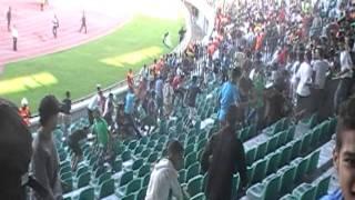 Raja vs Hilal soudani 0 - 0 du 18-09-2011, الشغب سببه الأطفال 2017 Video