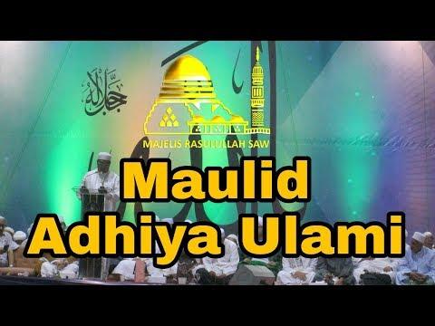 [FULL] Maulid Adhiya Ulami || Isra Mi'raj Majelis Rasulullah SAW || Monas 2018
