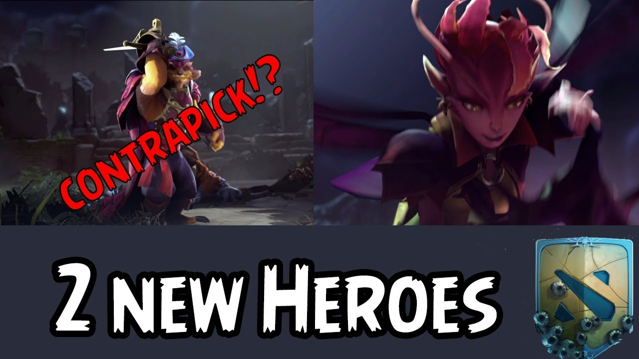 dota 2 the international 7 2 new heroes released youtube