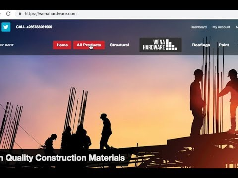 Wena Hardware, A Digital Platform For Buying Construction Ma