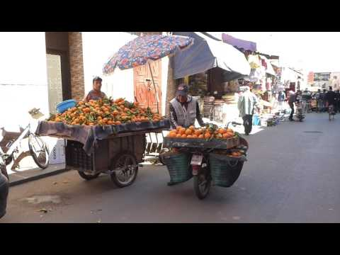 Daily Streetlife in Marrakesh - Morocco 2017 (HD)