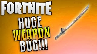 "Fortnite Save The World News ""Fortnite Founders Masamune Bugged!"" Fortnite Weapon Update"