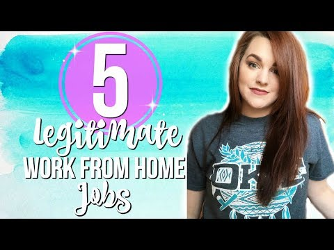 5 LEGITIMATE WORK FROM HOME JOBS | HOW TO WORK FROM HOME ONLINE AND EARN AN INCOME | Naomi Rose
