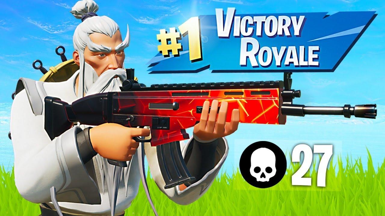 Winning in Solos! (Fortnite Battle Royale) thumbnail