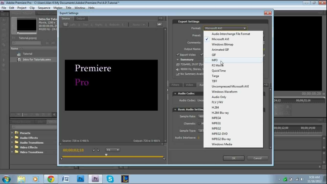 how to export audio in adobe premiere pro youtube. Black Bedroom Furniture Sets. Home Design Ideas