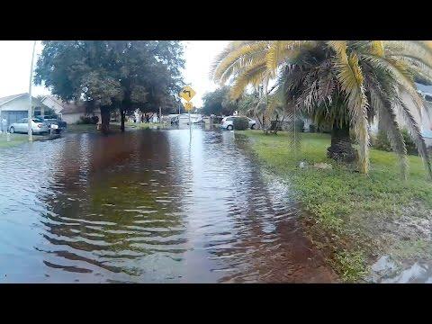 Flooding in New Port Richey, FL - Pasco County - Park Lake Estates