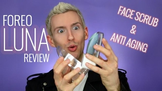 FOREO LUNA FIRST IMPRESSIONS | ANTI-AGING SKIN CARE FACIAL BRUSH | Trevor Ritchie
