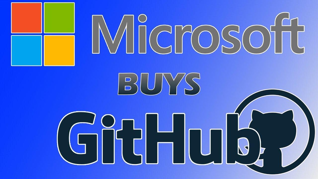Microsoft Buys Github for 7 5 BILLION Dollars!