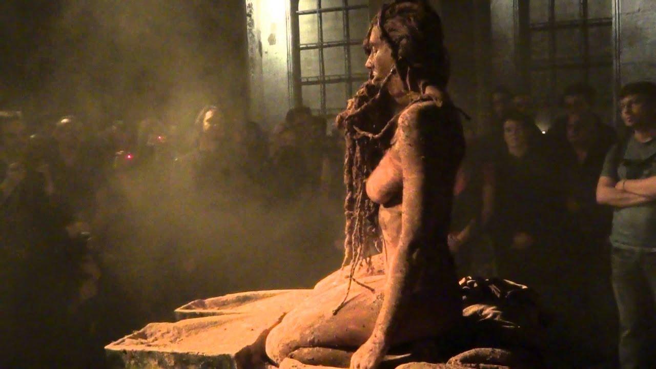 Erotic art performance - 2 part 8