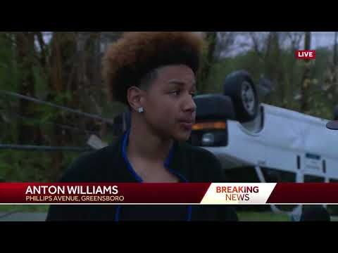 Man says strong storms disrupted his video game
