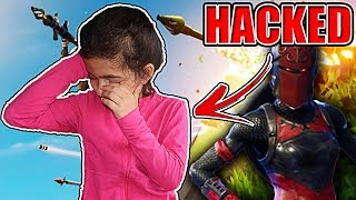 MY 5 YEAR OLD LITTLE SISTER FORTNITE ACCOUNT GOT HACKED!! WHY I HAVE NOT UPLOADED IN 2 WEEKS!!