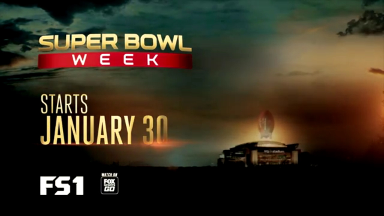super bowl week on fs1 begins monday  jan  30 live from discovery green in houston