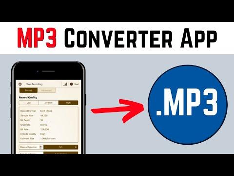 MP3 converter app for iOS (iPhone/iPad)