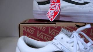 Vans old skool reissue CA  birch white  review - Video Más Popular a2462a28f